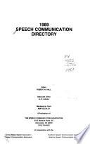 Speech Communication Association Directory
