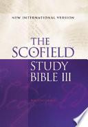 Scofield III Study Bible-NIV