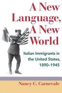 A New Language  A New World