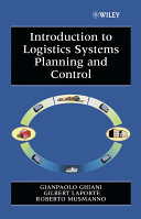 Introduction to Logistics Systems Planning and Control