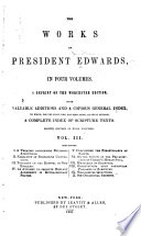 The Works of President Edwards     Book