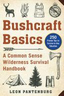 Bushcraft Basics Pdf/ePub eBook