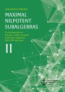 Maximal nilpotent subalgebras II  A correspondence theorem within solvable associative algebras  With 242 exercises