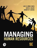 Mylab Management with Pearson Etext    Access Card    For Managing Human Resources