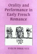 Orality and Performance in Early French Romance