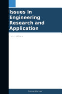 Issues in Engineering Research and Application  2012 Edition