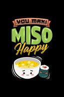You Maki Miso Happy Sushi Soup Anime Manga Otaku