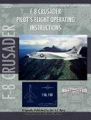 Vought F-8u Crusader Pilot's Flight Operating Manual