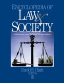 Encyclopedia of Law and Society
