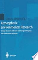 Atmospheric Environmental Research
