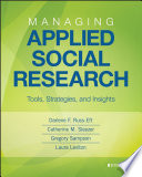 Managing Applied Social Research Book