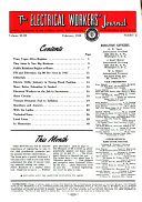 The Electrical Workers  Journal