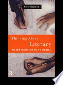 Thinking About Literacy