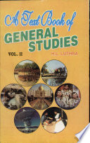 A Text Book of General Studies Vol II