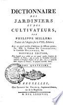 Dictionnaire des jardiniers et des cultivateurs,