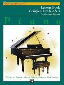 Alfred s Basic Piano Course Lesson Book  Complete 2   3 Book