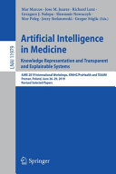 Artificial Intelligence in Medicine  Knowledge Representation and Transparent and Explainable Systems