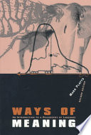 Ways of Meaning Book