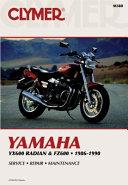 Clymer Yamaha YX600 Radian & FZ600, 1986-1990