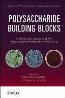 Polysaccharide Building Blocks Book