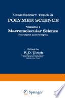 Macromolecular Science