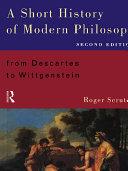 A Short History of Modern Philosophy [Pdf/ePub] eBook