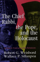 The Chief Rabbi  the Pope  and the Holocaust
