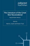 The Literature of the Great War Reconsidered [Pdf/ePub] eBook