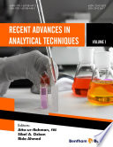 Recent Advances in Analytical Techniques Volume 1 Book