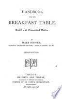 Handbook for the breakfast table : varied and economical dishes