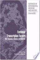 Forkhead Transcription Factors Book