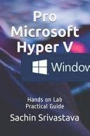 Pro Microsoft Hyper V