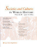 Societies And Cultures In World History 1300 To 1800