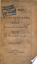 Religious music : two discourses