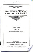 Spalding's Official Base Ball Record
