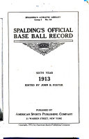 Spalding S Official Base Ball Record