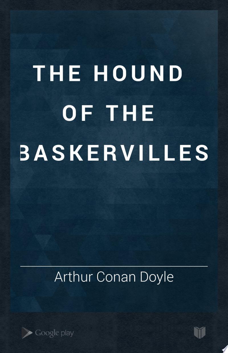 The Hound of the Baskervilles banner backdrop