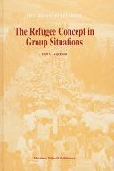 The Refugee Concept in Group Situations