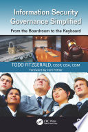 Information Security Governance Simplified Book PDF