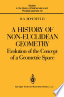 A History of Non Euclidean Geometry Book