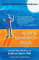 The Actor s Quotation Book