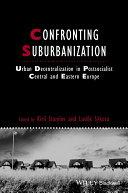 Confronting Suburbanization