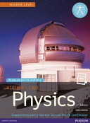 Cover of Pearson Baccalaureate Physics Higher Level 2nd Edition Print and Ebook Bundle for the IB Diploma