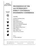 Proceedings of the 23rd Intersociety Energy Conversion Engineering Conference