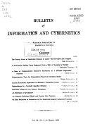Bulletin of Informatics and Cybernetics Book