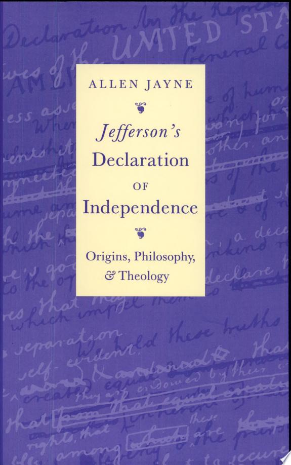 Jefferson's Declaration of Independence