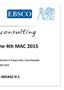 Proceedings of The 4th MAC 2015