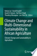 Climate Change and Multi Dimensional Sustainability in African Agriculture