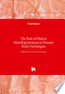 The Role of Matrix Metalloproteinase in Human Body Pathologies