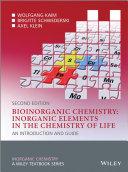Bioinorganic Chemistry    Inorganic Elements in the Chemistry of Life Book